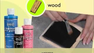 Классная доска краски(Включите широкий спектр поверхностей на классные доски с этой великой новые краски. Легко кисти на нашем..., 2012-02-01T19:39:36.000Z)