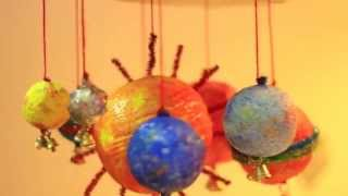 DIY Solar System Wind Chime - School Project