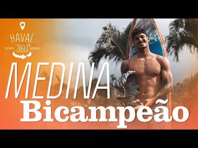 A vitória de Gabriel Medina em 360° | Havaí 360° | Canal OFF