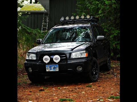 2003 Subaru Forester Off Road Lighting