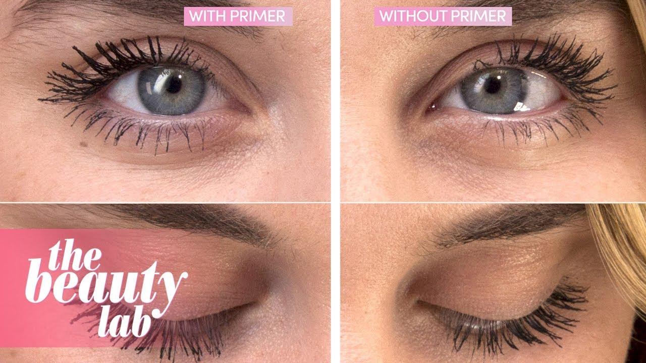 79af9bc5e13 Mascara Primer Review | Beauty Lab | Cosmopolitan UK - YouTube