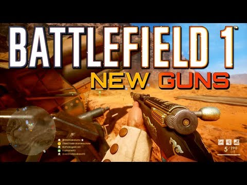 Battlefield 1: NEW Guns on Scar and Sinai Frontlines! (PS4 PRO Multiplayer Gameplay)
