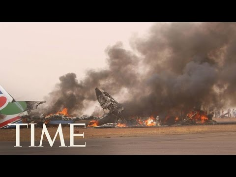 A Passenger Plane Crash-Landed And Burned In South Sudan But All 49 People Onboard Survived | TIME