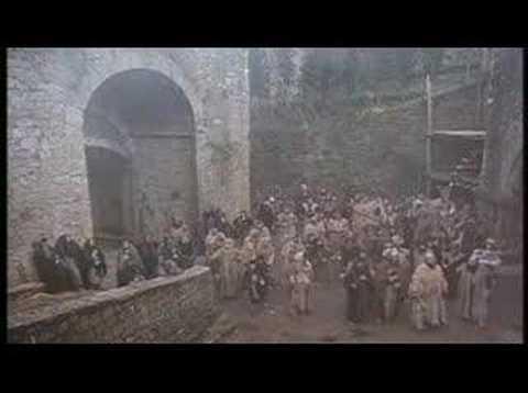 """Volterra on the movie: """"Cammina Cammina"""" di E.Olmi - scena 1"""