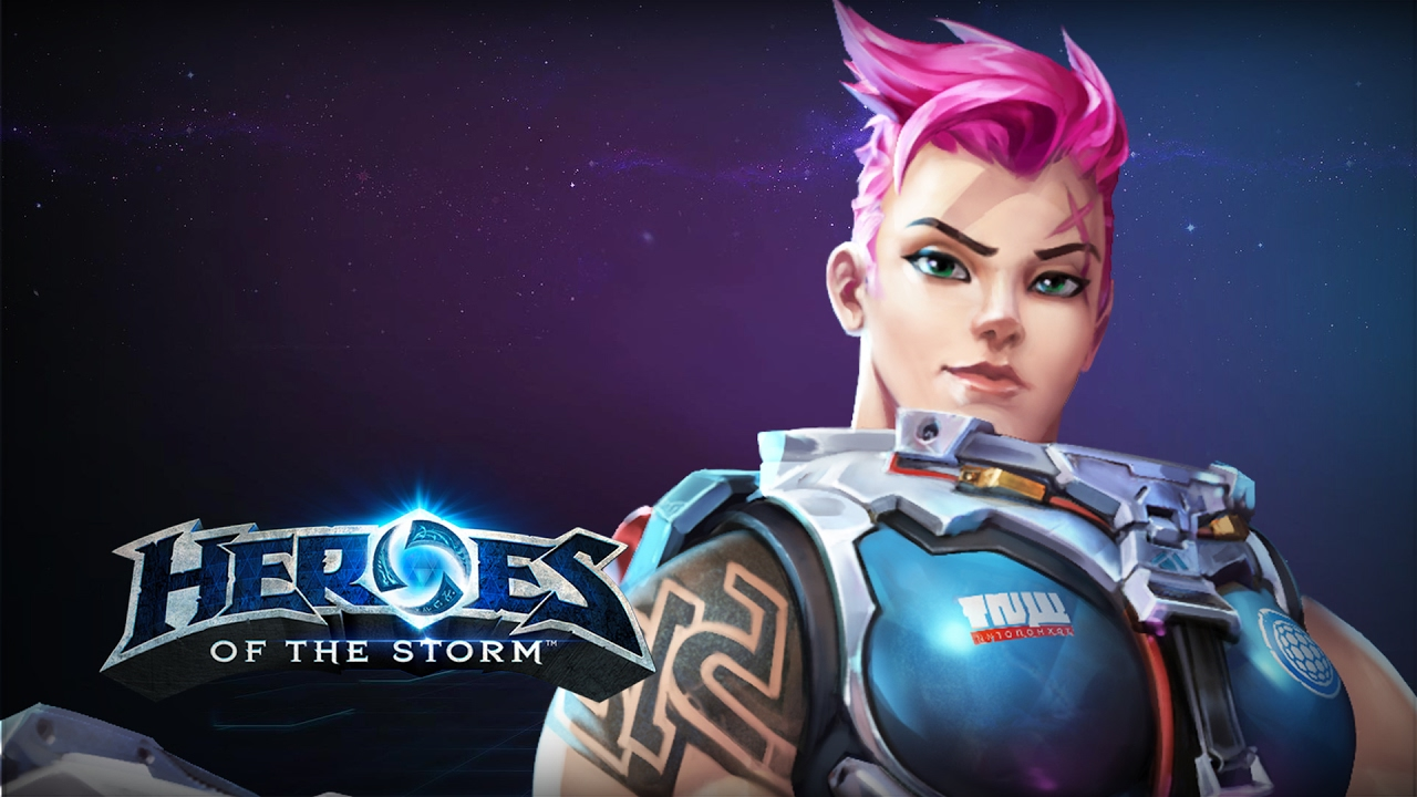 Hots Zarya Build