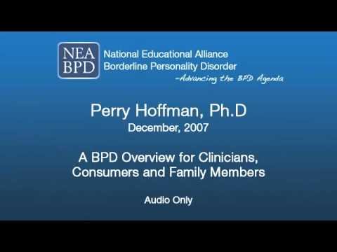 A BPD Overview for Clinicians, Consumers and Family Members