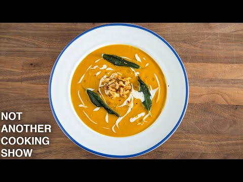 Quick And Easy BUTTERNUT SQUASH SOUP