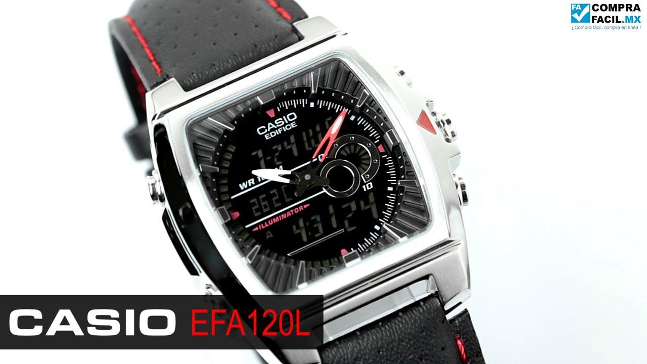 мужские часы casio edifice efa-120d-7a инструкция