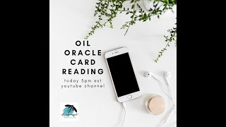 Oil Oracle Reading 3/20/2020