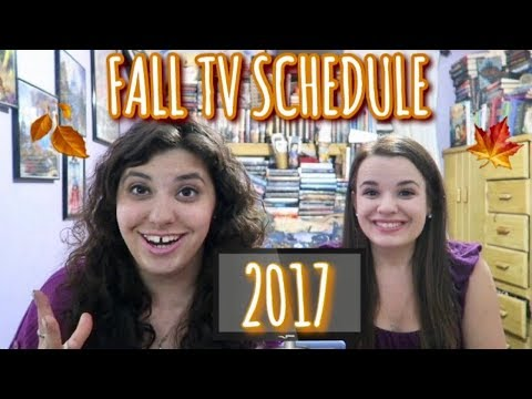 2017 FALL TV SCHEDULE