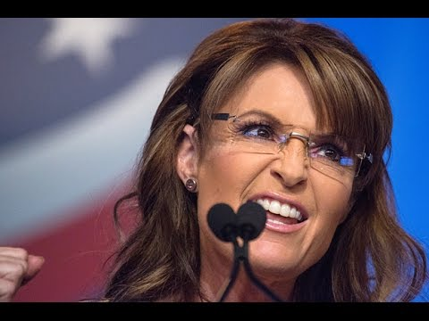 Sarah Palin Rips 'Punk Ass Little Thuggery' Of Anti-Trump Pr