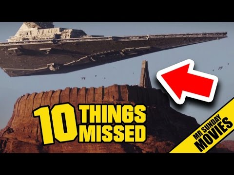 Thumbnail: ROGUE ONE: A STAR WARS STORY Trailer - Easter Eggs & Things Missed