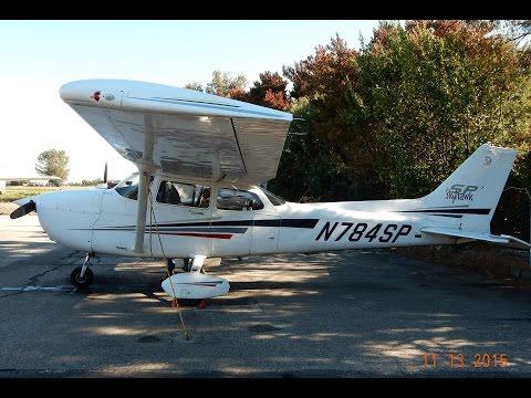 GoPro Cessna 172S Skyhawk SP Pattern Work Palo Alto & San Carlos Airport