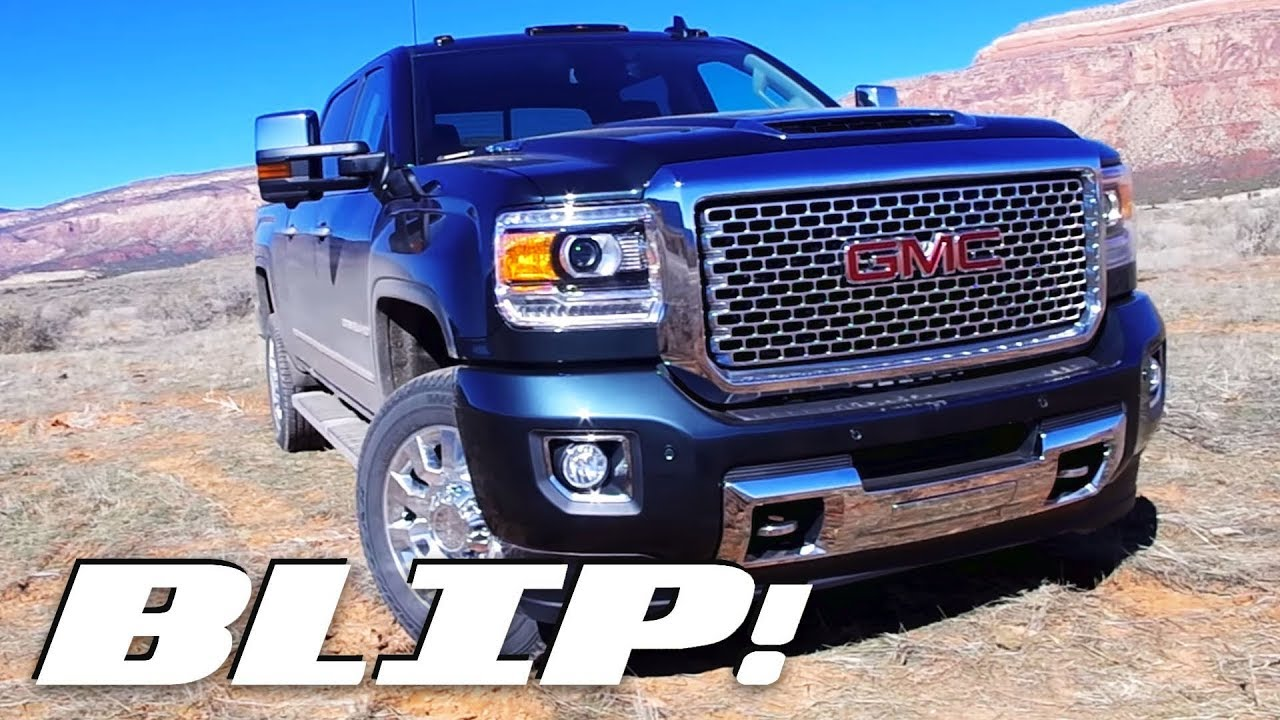 This New Hood Scoop On The 2017 Gmc Sierra Hd Does A Neat Trick Blip