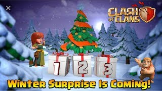 Clash Of Clans Winter Update Secret Surprise Is Coming! | Clash Of Clans Christmas 2018 Update!