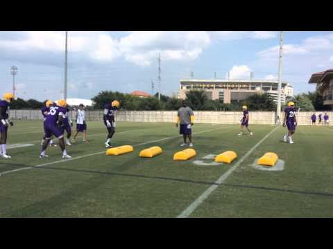 LSU's young defensive backs get schooled on staying patient