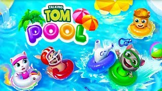 Talking Tom Pool by Outfit7 [Android/iOS] Gameplay ᴴᴰ