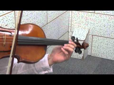 ABRSM Viola Exam Piece 2016-2019 - Grade 7 - A1 Bach Cello Suite No.1 in G Allemande