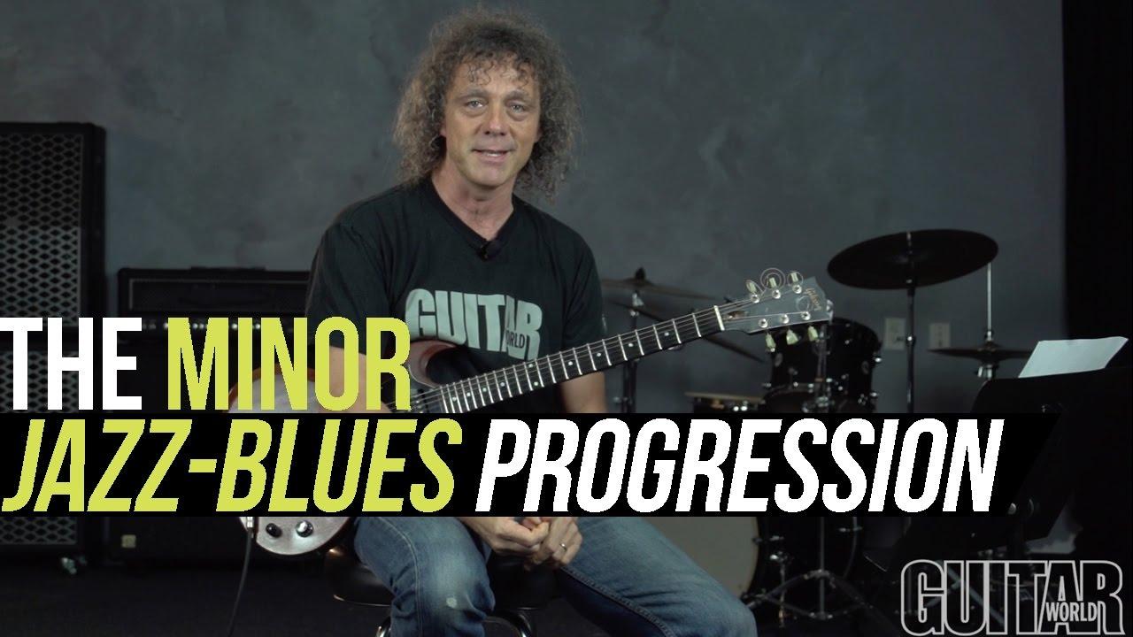 The Minor Jazz-Blues Progression | Guitarworld