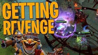 Getting Revenge - DotA 2 Techies Full Match