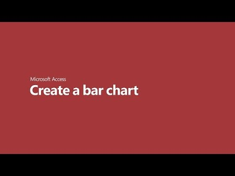How To Create A Bar Chart In Microsoft Access