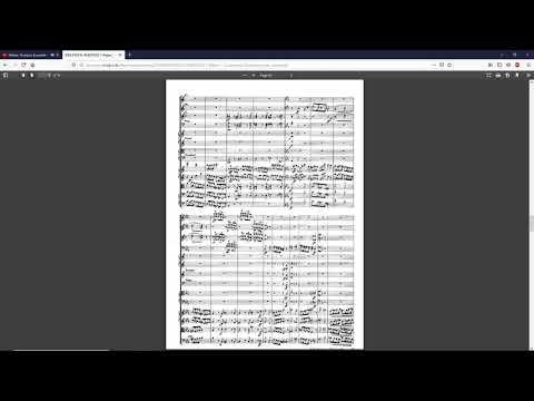 OVERTURE TO EURYANTHE By Carl Maria Von Weber {Audio + Full Score.}