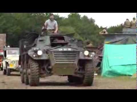 Alvis Saracens FV603 at War & Peace Show 2012