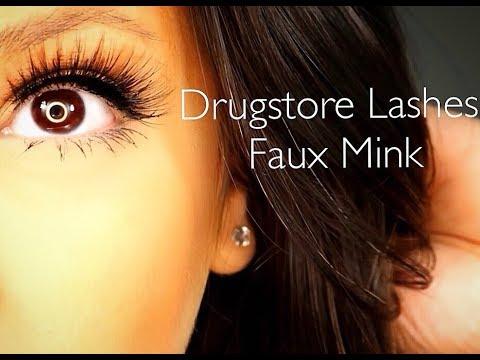 e6ddabe81f0 Eylure Luxe Faux Mink Opulent Lashes I Drugstore Affordable Lashes ...