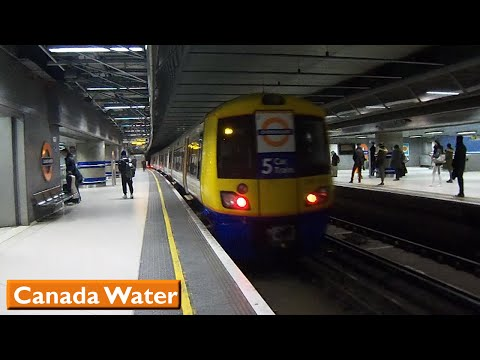 London Overground : Canada Water | East London Line ( British Rail Class 378 )