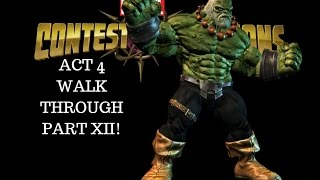 Marvel: Contest of Champions (iOS/Android) - ACT 4 WALK THROUGH PART XII!