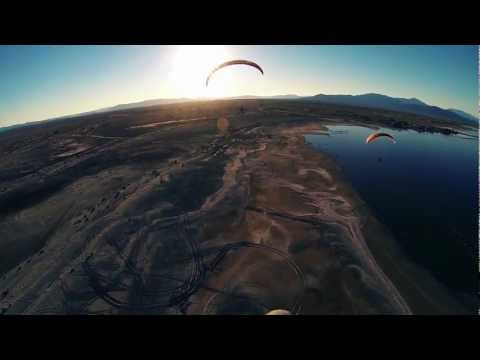 GoPro Hero 3 Footage: Powered Paragliding the Salton Sea 2013!