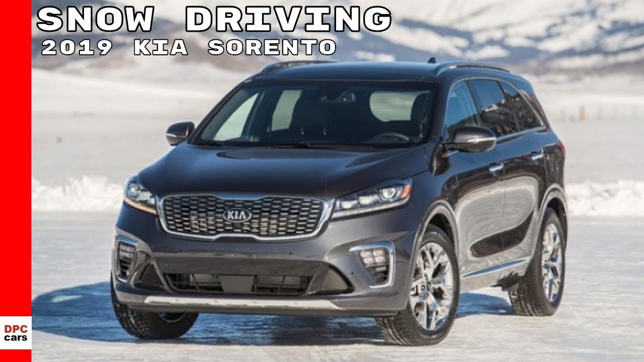 Kia Sorento: Winter driving