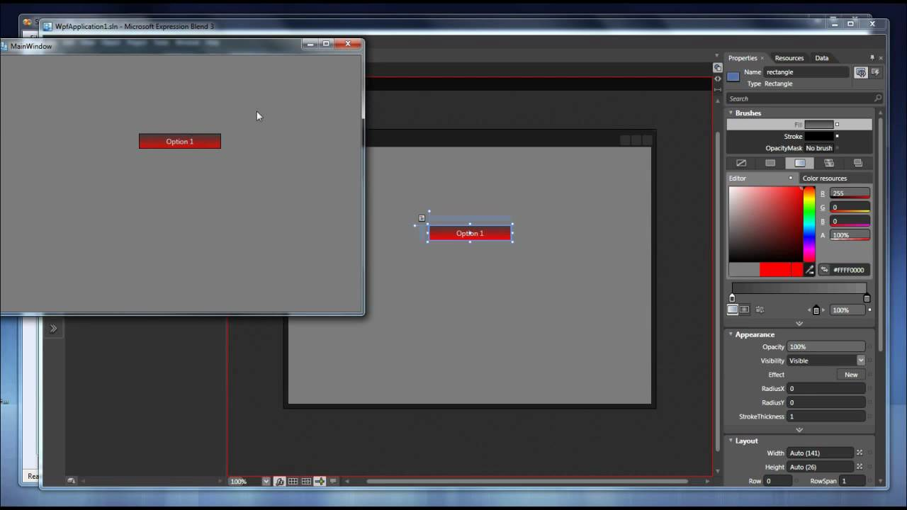 Simple tutorial of ¿How make custom Wpf buttons and then use it in Visual  Studio? HD