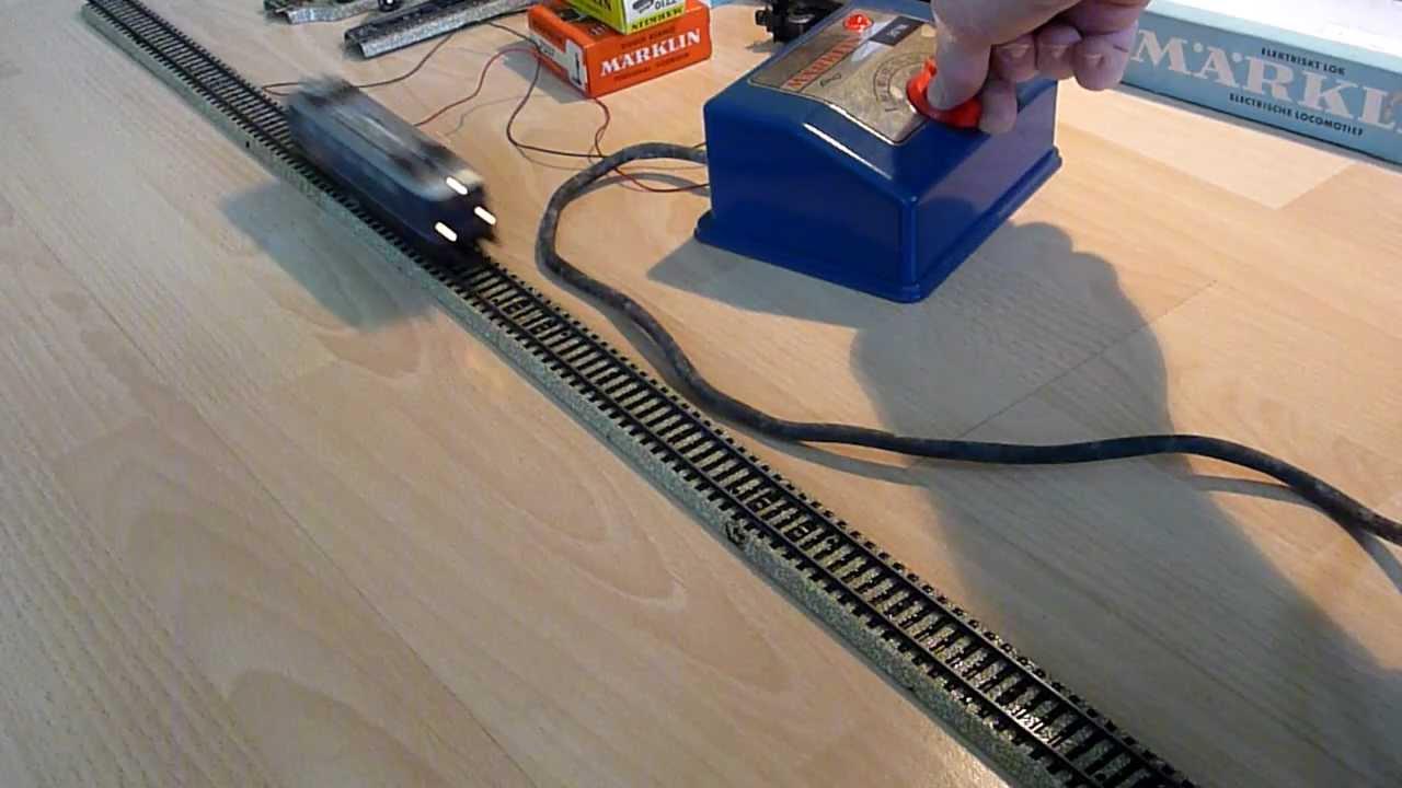 Märklin Eisenbahn Trafo 30VA.MTS - YouTube