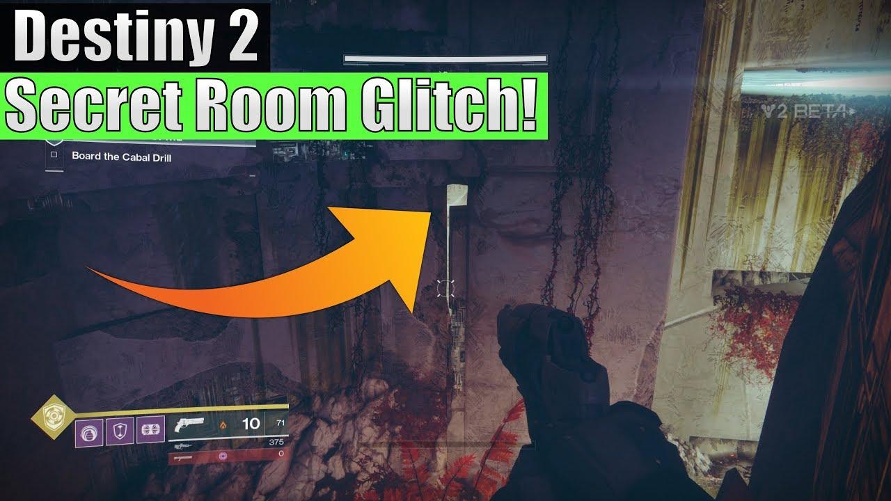 Destiny 2 - Secret Room In The Inverted Spire Strike (Possible Hidden Chest  Room!?)
