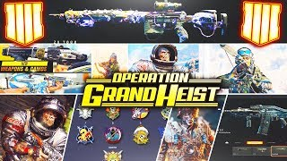 Black Ops 4: Everything You Need to Know About Operation Grand Heist (BO4 Update 1.13 New DLC)