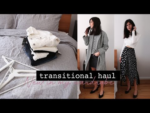 Minimal Style Transitional Haul Ft. Zara, Everlane, RE/DONE, Topshop + Grana | Mademoiselle Ad