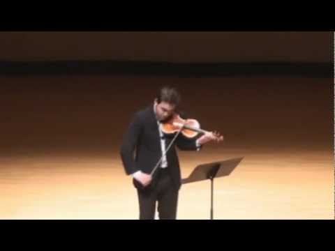 Giora Schmidt - World Premiere of Liszt Piano Sonata in B minor for Solo Violin