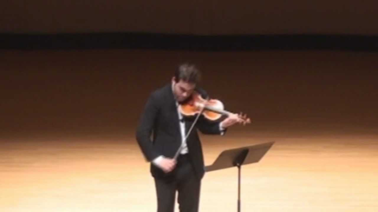 5 Notoriously Difficult Solo Violin Pieces