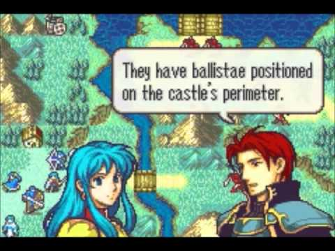 Let's Play Fire Emblem: The Sacred Stones chapter 7 (1/2): Waterside Renvall