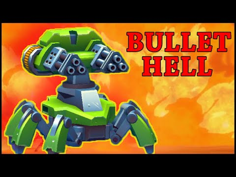 BULLET HELL - Tanks A Lot - Gameplay + Chest Opening