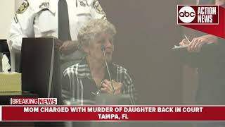 Mom accused of drowning daughter in Hillsborough River will stay in jail until trial
