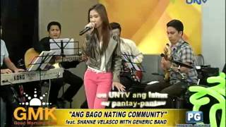 """""""Ang Bago Nating Community"""" 2013 UNTV Theme Song (feat. Shanne Velasco and Generic Band)"""