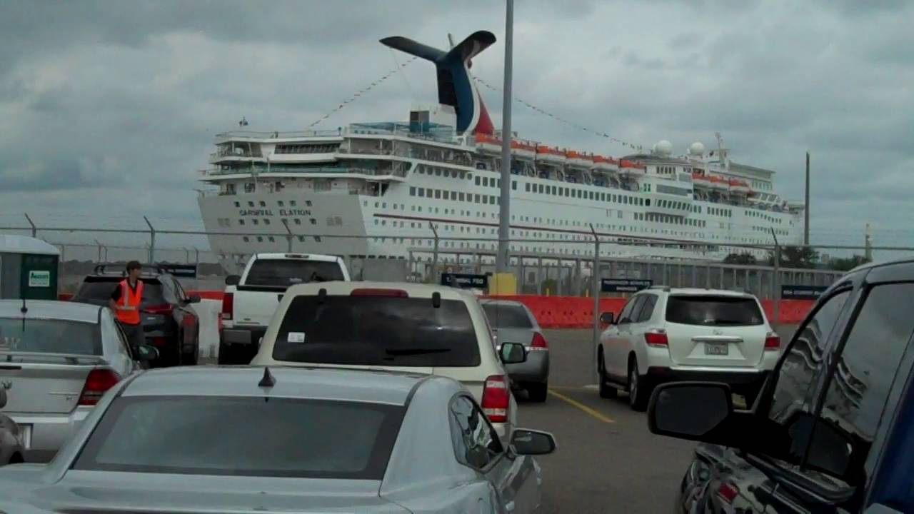 Carnival Elation In Jacksonville Fl YouTube - Cruises out of jacksonville