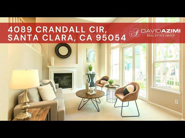 For Sale! 4089 Crandall Cir, Santa Clara, CA 95054 | David Azimi