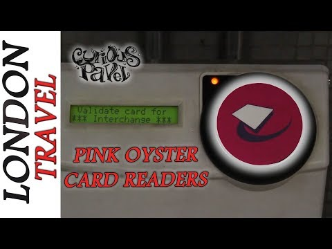 What Are the Pink Oyster Card Readers For and How They SAVE MONEY