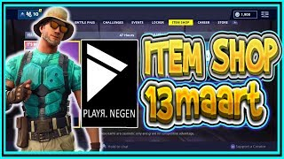 | FORTNITE NL/BE | * NEW * MARINO Skin | ITEM SHOP MARCH 13th 2019-Playr Nine (English)
