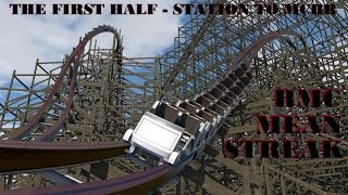 rmc mean streak first half layout animation cedar point 2018 nolimits 2