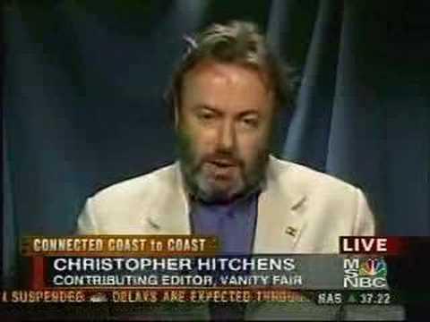 Christopher Hitchens debates Iraq with Reagan Jr.