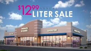Beauty Brands $12.99 Annual Liter Sale - TV Thumbnail
